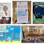 Ζωγραφίζουμε για την ειρήνη των λαών και τις ανθρώπινες αξίες, ομαδική έκθεση 80 σχολείων Αττικής 11-20/5