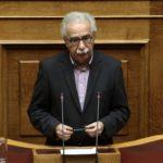 18-12-17 Νομοθετική ρύθμιση για τις μετεγγραφές ανακοίνωσε ο Υπουργός Παιδείας, Έρευνας και Θρησκευμάτων Κώστας Γαβρόγλου στη συζήτηση για τον Προϋπολογισμό του 2018