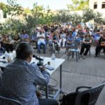 Συνέντευξη τύπου για ανάκληση της απόφασης του Υπουργείου Παιδείας και πλήρη επαναφορά των καλλιτεχνικών μαθημάτων στο Λύκειο